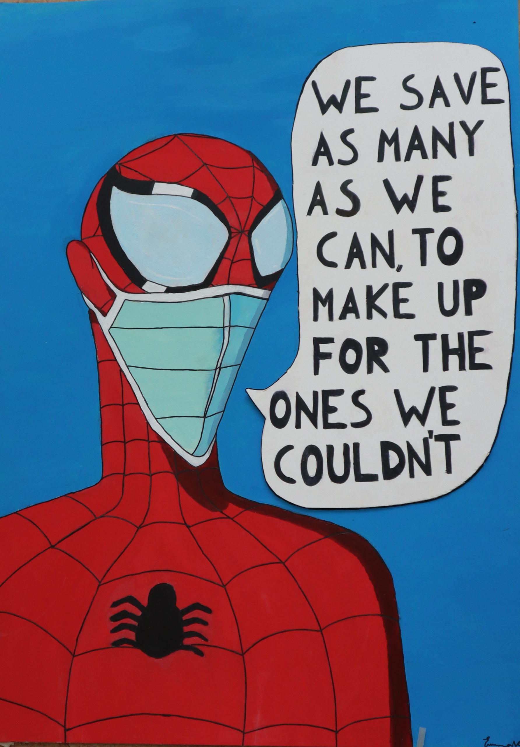 Tema: Spiderman / Corona